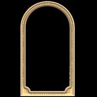 (423) Mirror Frame -3d STL model for CNC