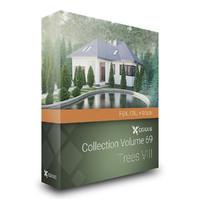 CGAxis Models Volume 69 Trees VIII FBX OBJ