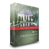 CGAxis Models Volume 69 Trees VIII VRay VRMESH