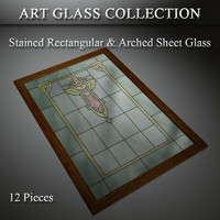 3d art glass