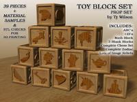 3ds max set blocks