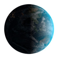 Photorealistic Earth 32K with Atmosphere