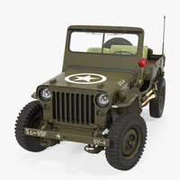 Jeep Willys 1944 Rigged