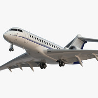 Global 6000 Jet Rigged