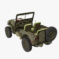 Jeep Willys 1944 Ambulance