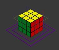 Rubiks Cube Rig