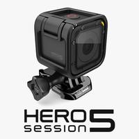 GoPro Hero 5 Session + Camera Housing