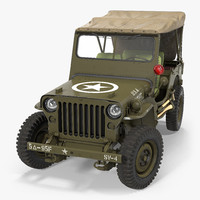 Jeep Willys 1944 Convertible Rigged