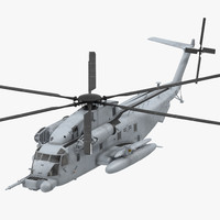 Sikorsky MH-53 Pave Low Usaf Rigged