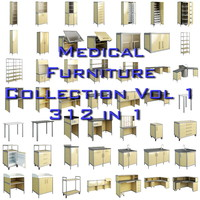 Medical furniture collection vol 1