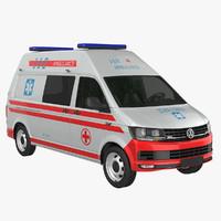 VW T6 Ambulance