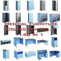 Medical Furniture collection vol2
