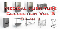 Medical Furniture collection vol3