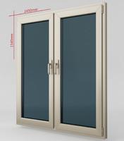 Plastic casement window 04