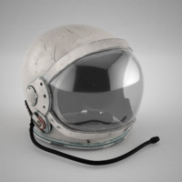 Mercury space helmet