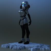 BASP Sci-fi space pilot
