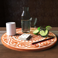 Lime water decor set