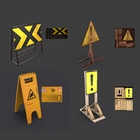 Road signs for games and VR