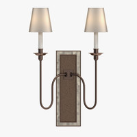 Baker - Venetian mirrored vertical sconce PH006