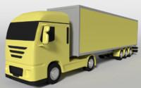 Cartoon Truck 1
