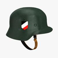 free german helmet 3d model