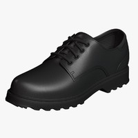 Oxford Shoes Black Leather