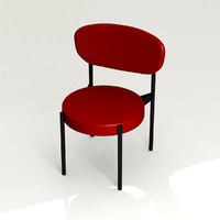 Verner Panton Dinner Table Chair