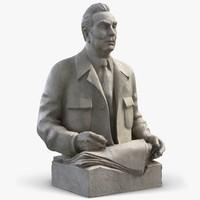 Sculpture Leonid Brezhnev