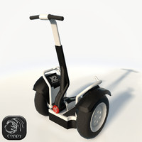 Segway low poly