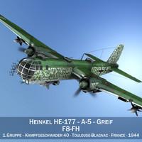 Heinkel He-177 - Greif - F8FH