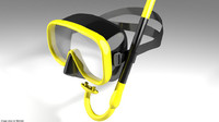 Scuba Diver Mask Type 1