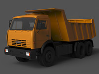 Truck tipper KAMAZ