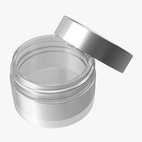 Creamer Jar Empty Open