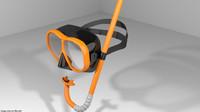 Scuba Diver Mask Type 3