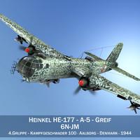 Heinkel He-177 A-5 - Greif - 6NJM