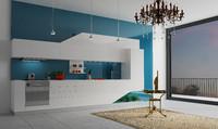 Corona renderer Kitchen