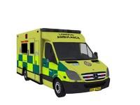 Mercedes Benz Sprinter London Ambulance
