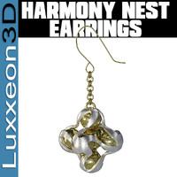 3d earrings