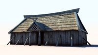 Viking House 3 ( longhouse )