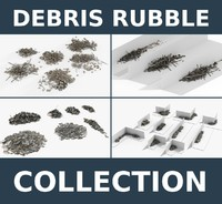 Debris Rubble Ruins 4 Collections