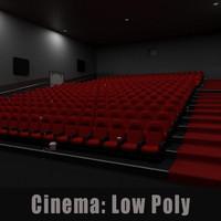 Cinema Low Poly