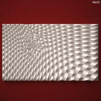 (632) Wall Panel -3d STL model for CNC