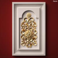 (644) Door Panel -3d STL model for CNC