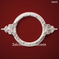 (652) Mirror Frame -3d STL model for CNC