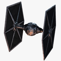 Game ready Tie Fighter