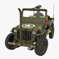 Jeep Willys MB Rigged