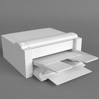 3dsmax pc computer printer uv