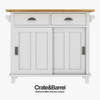 Crate & Barre - Belmont Kitchen Island