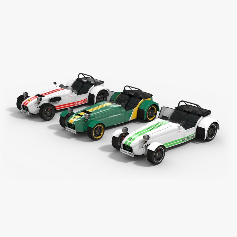 Caterham R500: 3D Max Caterham Car Pack