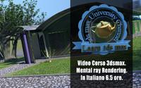 Corso 3ds max Mental Ray Rendering Versione MP4